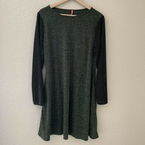 Paolino Women's Tunic Top Blouse Forest Green XL